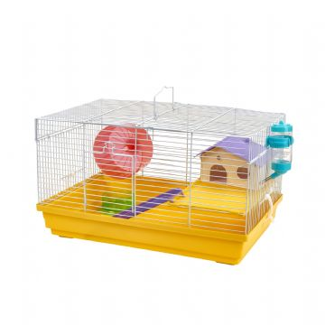 Pet Ting Yellow Heather Rodent Cage